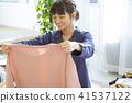 成熟的女人 一個年輕成年女性 女生 41537122