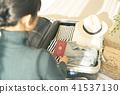 女性生活烹飪照片 41537130