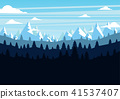 mountains, mountain, forest 41537407