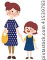 母親和孩子 41539783