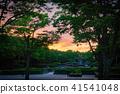 evening, eventide, sunset 41541048