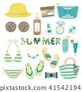 夏季时装插画(3) 41542194