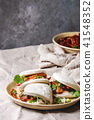 Gua bao buns with pork 41548352