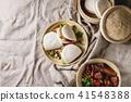 Gua bao buns with pork 41548388