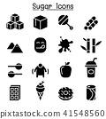 Sugar icon set 41548560