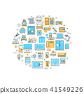 appliances, home, icon 41549226