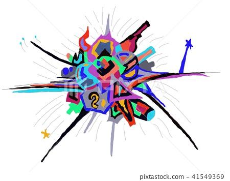 抽象画 插图 艺术 41549369