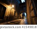 Barri Gothic Quarter and Bridge in Barcelona 41549818