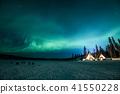 """""""加拿大西北地區""""耶洛奈夫毛尖和極光 41550228"""