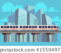 Sky Train, Subway Concept Vector 41550497