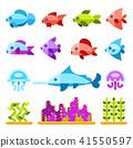 icon animal marine 41550597