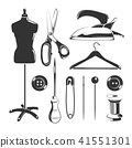Vector elements for tailor labels 41551301