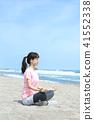 一個年輕成年女性 女生 女孩 41552338