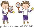 网球 矢量 网球拍 41553241