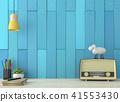 Vintage working table 3d render 41553430