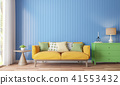 Colorful living room 3d render 41553432