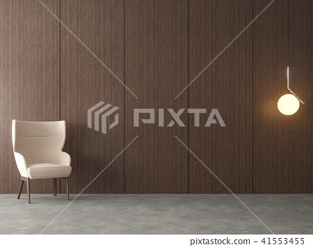 Modern loft empty room 3d render 41553455