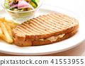 맛있는 핫 샌드 41553955
