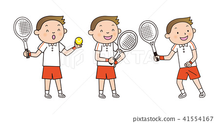 테니스 소년 세트 41554167