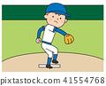 야구, 투수, 남성 41554768