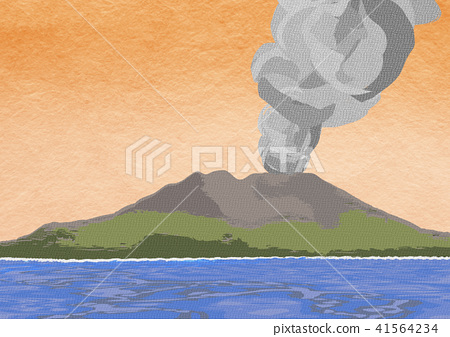 Sakurajima illustration 41564234