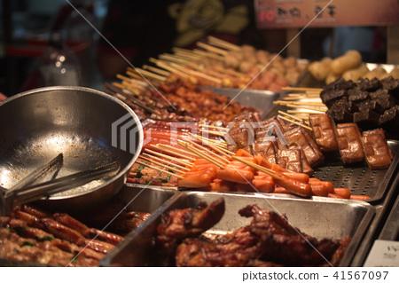 台灣夜市小吃 41567097