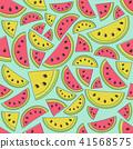watermelon seamless vector 41568575