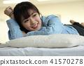 睡觉 女孩 少女 41570278