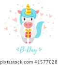 happy, birthday, card 41577028