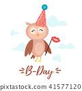 happy, birthday, card 41577120