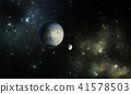 Exoplanets or Extrasolar planet with stars 41578503