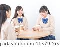 高中学生咖啡馆 41579265