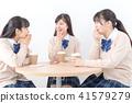 高中学生咖啡馆 41579279