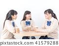 高中学生咖啡馆 41579288