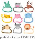 animal frame 41580335