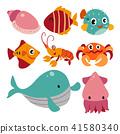 ocean charater design 41580340