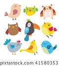 birds character vector design 41580353