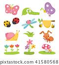 卡通 多彩 昆虫 41580568
