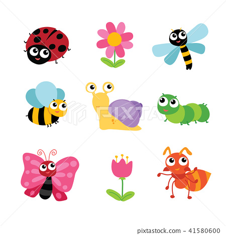 insects character design 41580600