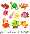 海 动物 可爱 41580653