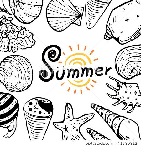 summer vector collection design 41580812