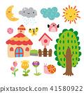 garden vector collection design 41580922