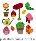 garden icon collection 41580932