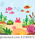 ocean animals collection design 41580971