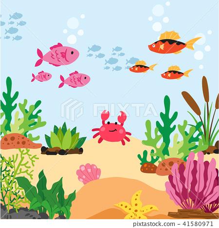 ocean animals collection design 41580971