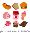 food icon collection 41581000