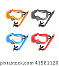 snorkel vector collection design 41581120