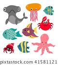 ocean character design 41581121