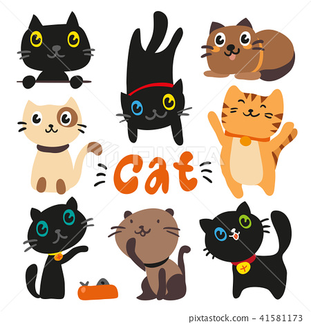 cats charcater design 41581173