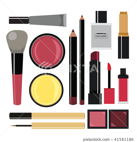 Cosmetics elements collection 41581186